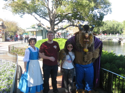 sukkitmike:  I met Belle and Beast!