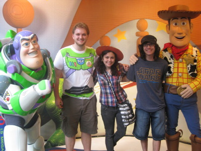 sukkitmike:  Buzz and Woody!