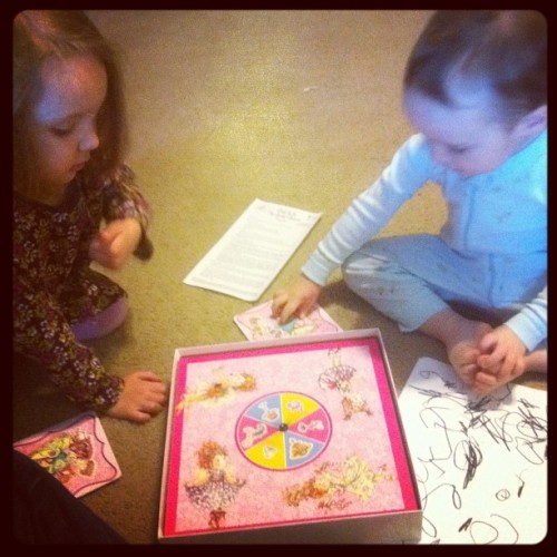 Fancy Nancy Ooh La La Tea Party #gamenight #boardgame #iplayanything (Taken with instagram)