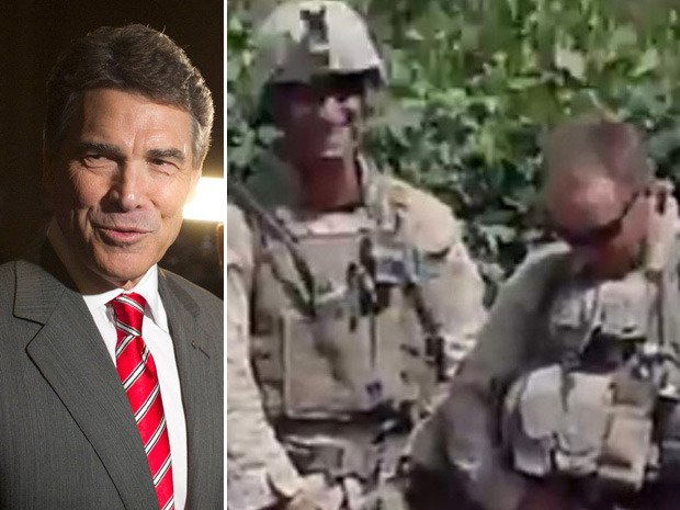 "Rick Perry defends Marines caught urinating on Taliban corpses in videoTexas Governor Rick Perry, scrambling to keep his U.S. presidential bid alive, accused the Obama administration on Sunday of over-reacting to a videotape that shows four Marines appearing to urinate on dead Taliban fighters in Afghanistan.""These kids made a mistake. There's not any doubt about it. They shouldn't have done it. It's bad,"" Perry told CNN's ""State of the Union"" program.""But to call it a criminal act, I think, is over the top,"" said Perry, who faces a possible make-or-break performance in the South Carolina Republican presidential primary on Saturday. (Photos: Reuters)"