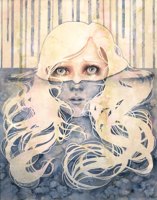 urhajos:  'Desinence' by Kelly McKernan