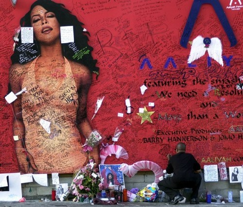 """When ya think of Aaliyah, laugh, don't cry, I know she'd want it that way… Friend of a friend, friend 'til the end, that's the kind of girl she was, taken away so young, taken away without a warning, oh.."" - Boyz II Men [Think Of Aaliyah]"