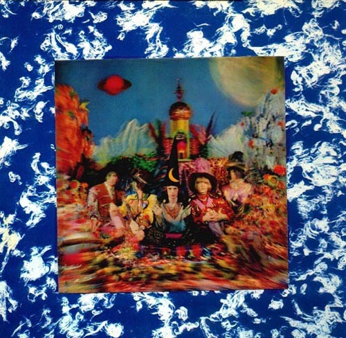 paddle8:  Rolling Stones, Their Satanic Majesties Request, 1967 Lentincular 3D album cover