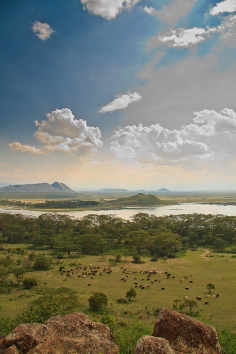 Lake Elementaia near Nairobi, Kenya
