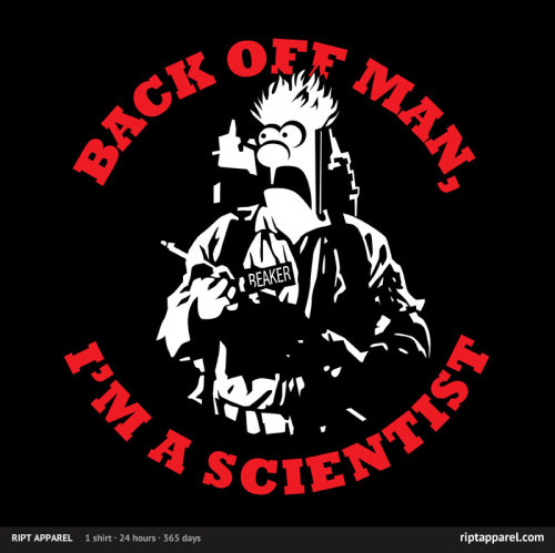 I bought this on RIPT today. Awesome shirt! (via Cool Graphic Tees and Cheap Limited Edition T shirts by RIPT Apparel)