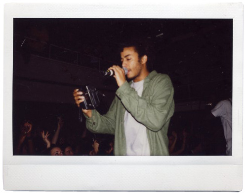 1999 | The Pharcyde Live at The Jazz Cafe Polaroids by Sarah