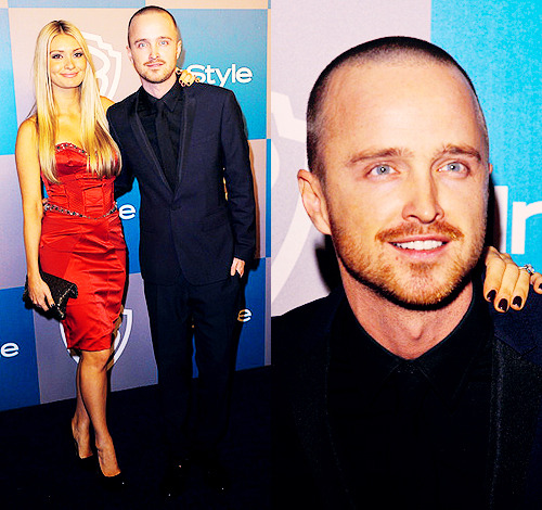 annperkins:  Aaron Paul @ the InStyle Golden Globe Awards After Party in Beverly Hills, California (1/15/12)