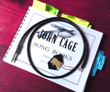 "John Cage ""Song Books"" Sunday 11th March 2012Cafe Oto, 7:30pm with former Scratch  Orchestra members John Tilbury, Stefan Szczelkun, Peter Ellison, Carole  Finer and Linn D alongside Eve Libertine, Geri McEwan, Ali  Warner, Jane Alden and others. I'll play electronics. http://cafeoto.co.uk/john-cage-song-books.shtm"