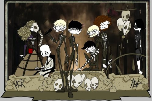 It's like JTHM meets MCR<3