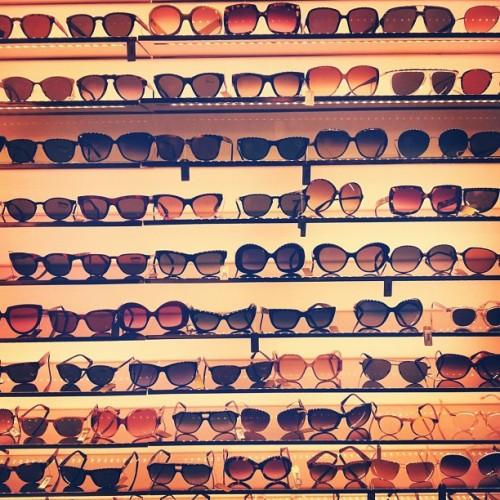evachen212:  sunglasses galore @barneysny