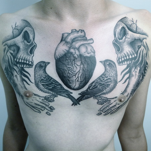 loss-of-control:  Tattoo and Artwork by: Rafel Delalande