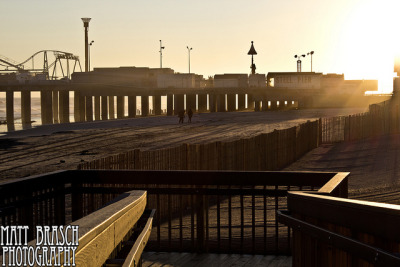 Semi-Silhouette of Steel Pier on Flickr.This photograph was taken of Steel Pier in Atlantic City, NJ on January 12, 2012 by Matthew Brasch. Camera: Canon EOS Rebel T3i Lens: Tamron 10-24mm f/3.5-4.5 Focal Length: 15 F Number: f/9 Shutter Speed: 1/800