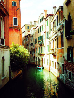 allthingseurope:  A canal in Venice  (by cattycass)