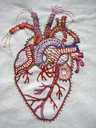 rare-fibers:  Carla Madriga Embroidery