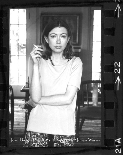 believermag:  I recently conducted an interview with Joan Didion. We spoke over the phone; she from her hotel in Washington. She was on tour for Blue Nights, a reminisence about the life and death of her daughter, Quintana, and Didion's thoughts about her own mortality. Over the next few weeks, we will be posting highlights from this interview, then it will all be posted on The Believer website. - Sheila Heti THE BELIEVER: When you were a little girl you wanted to be an actress, not a writer? JOAN DIDION: Right. BLVR: But you said it's okay, because writing is in some ways a performance. When you're writing, are you performing a character? JD: You're not even a character. You're doing a performance. Somehow writing has always seemed to me to have an element of performance. BLVR: What is the nature of that performance? I mean, an actor performs a character— JD: Sometimes an actor performs a character, but sometimes an actor just performs. With writing, I don't think it's performing a character, really, if the character you're performing is yourself. I don't see that as playing a role. It's just appearing in public. BLVR: Appearing in public and sort of saying lines— JD: But not somebody else's lines. Your lines. Look at me—this is me, is, I think, what you're saying. BLVR: And do you feel like that me is a pretty stable thing, or unstable? Is it consistent through one's life as a writer? JD: I think it develops into a fairly stable thing over time. I think it's not at all stable at first. But then you kind of grow into the role you have made for yourself. BLVR: How would you gauge the distance between the role you have made for yourself— JD: —and the real person? BLVR: Yeah. JD: Well, I don't know. The real person becomes the role you have made for yourself.