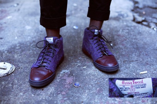 "The Accidental Prep and Harris Tweed x Nike MICHAEL'S STYLE Michael Yarbrough's closet is one that just speaks ""style with ease"", in the most literal sense. He is one of the most stylish people I know, part of the reason why I've never shied away from having him on my blog in the past. But Michael is like one of those guys Mordechai Rubinstein would flip over. He's has a good sense for clothing, and a refined taste, yet sometimes he's completely unaware of how stylish he is. Haha. I like to think that he has almost like a serendipitous fashion sense. He's that guy in the movie that would say, ""Oh this? I just put this on when I woke up this morning."" But he'd mean it. Most of the clothes in Michael's closet are collected from countless Goodwills, donation bins, and miscellaneous thrift stores. Yet you really couldn't tell. If you had to peg him, you'd come up with something like ""refined and classic; yet preppy with a casual twist"".  Whenever I see a piece on Michael I particularly like, I ask him where he got it from. There's a phrase Michael has come up with to describe the place from which a significant portion of his clothing originates, the ""You know that type of Goodwill. The super cheap, $1.50 kind."" Yes, that vintage J. Crew hat that makes him come off as a dressed down prep on his day off cost him $1.50 at Goodwill. In fact, most of the items Michael had with him that day were fairly preppy. That's typical of his closet. A lot of the time, he comes across as an 80's preppy weekend warrior. (It may not make sense to you, but to me the imagery is spot on haha.)  For part of the day, Michael was sporting a najavo print coat on top of a multi-colored Tommy Hilfiger polo, circa late 80s-mid 90s. The coat is vintage Woolworth from eBay.   shoes by sperry topsider  the dressed down, vintage weekend yuppie look Michael also had a vintage polo sweater that he put on top his polo later that day. Could this piece also be an item out of a forgotten Tommy Hilfiger fall/winter collection long gone? Nah. He actually got it thrifted. It's by Knights of the Round Table. Ironically Michael's polo isn't the only thing in his closet that appears to be vintage prep, that in reality is a brand you've probably never heard of. But it doesn't matter. Because it might still look better than the new brand name one you paid a lot more for. When I asked Michael why all his clothes were so preppy, he responded with something about having natural steeze.  THRIFTED BERETS AND PURPLE TWEED NIKES My closet isn't quite like Michael's, when it comes to thrifted items. While a lot of the clothes in my closet are thrifted, I actually don't shop at Goodwill often. And for me, thrifted/vintage goods don't serve as the basis for most of my outfits. They're usually a way to supplement my looks. For example, only one item I wore for the shoot is actually secondhand. I decided to use my outfit more as an example of how thrifted clothing can enhance any look, without making it look cheap or old. And could you guess what that item is? Probably not, and that's part of the point. The $2 beret that I'm rocking on my head looks pretty classic and timeless, and helps enhance my style factor tenfold. You may recognize the beret from my ""Black Panther Steeze"" post.  glasses by warby parker; beret thrifted; camo jacket by american apparel; shirt by selected/homme; black undershirt by asos black; pants by asos black; shoes by harris tweed x nike And believe it or not, Michael Yarbrough actually found this beret during the same haul that found him his vintage J. Crew hat. So that's a classic, black beret and a vintage J. Crew baseball hat for $3.50, and some tax. Most thrifting finds aren't that cheap, but it goes to show the magic that can happen.  I love all the items I'm rocking in this outfit, but there's one I can't help but highlight. Go back up to the top of the photoset and take another look at those Harris Tweed x Nike joints I'm rocking. If you have a keen eye, you may remember that they've been on the blog before. I just love them. They're like a luxe sneaker. I'm by no means a sneakerhead, so I didn't know about them when they dropped in '09. And I actually unknowingly grabbed the women's colorway when I copped them (the men's colorway is army green). But that's the best part. I would have still done it if I knew. The purple tweed is just something else.  Excuse me for a second while I throw up some details of my Selected/Homme club collar shirt and black ASOS top. Cheers guys."