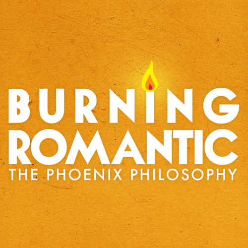 Album artwork for The Phoenix Philosophy's recent single Burning Romantic. Check out the song and get a free download on thephoenixphilosophy.com