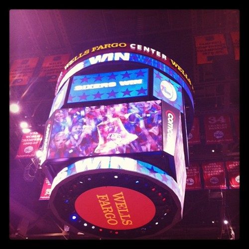 Thadda boys!!  #sixers (Taken with instagram)