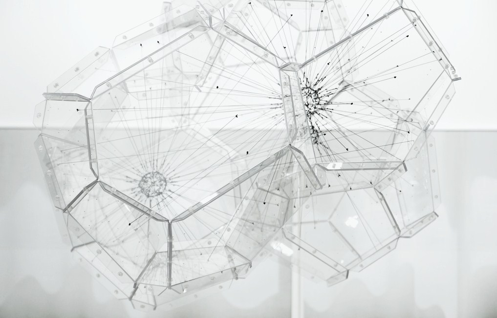 elcontexto:  Sphere Network by Tomas Saraceno at Art Basel (2011)