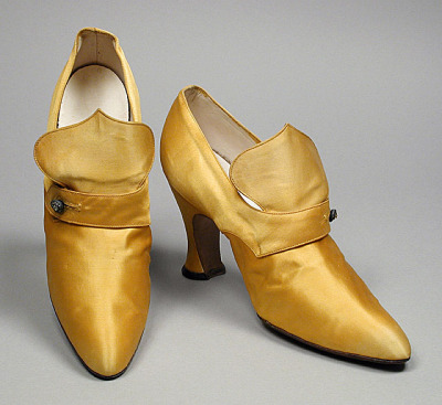 oldrags:  Shoes, ca 1918 Paris, LACMA
