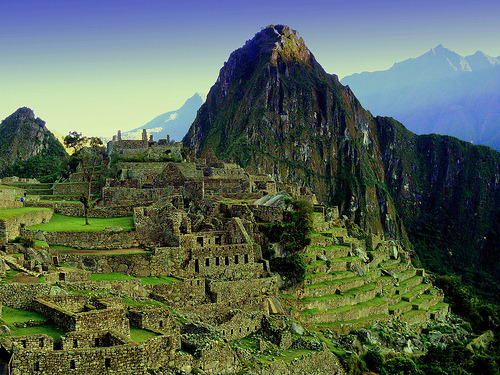 Incan City In The Sky (Machu Picchu) (by Butch Osborne)