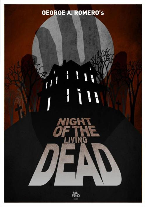 fuckyeahmovieposters:  Night of the Living Dead by Lost Mind