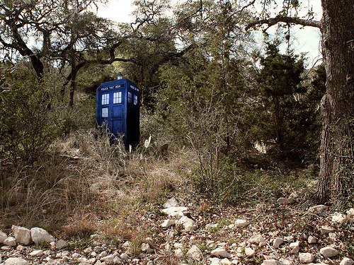 doctorwho:  My backyard right this moment. (by jennythebloggess)