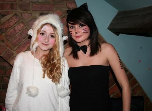baaaa! me and the lovely gemma!