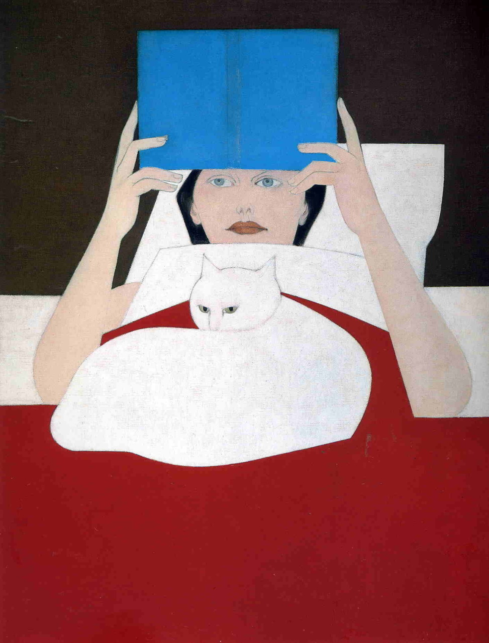 Will Barnet, Woman Reading