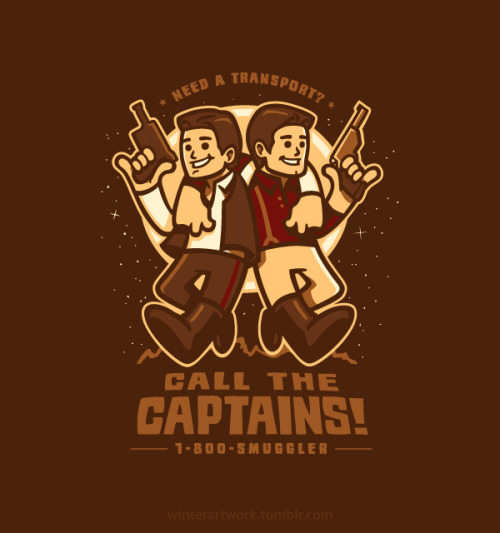 """Call The Captains"" They'll transport anything, anywhere! (no guarantees and no refunds) Now on my RB Store"
