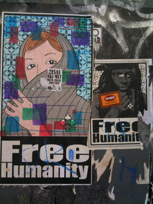 A Lady & Lil Wayne by Free Humanity NYC