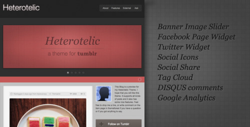 Check out my latest offering, its a #tumblr #theme