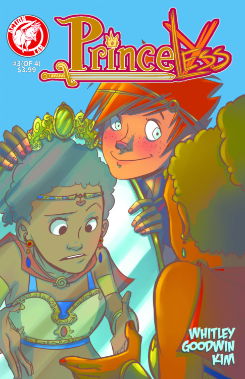 Market Monday Princeless #3, art by Mia Goodwin (Available on Graphicly)