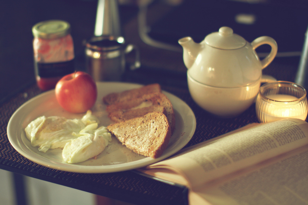"""My hour for tea is half-past five, and my buttered toast waits for nobody."" —Wilkie Collins, The Woman in White  Facebook 