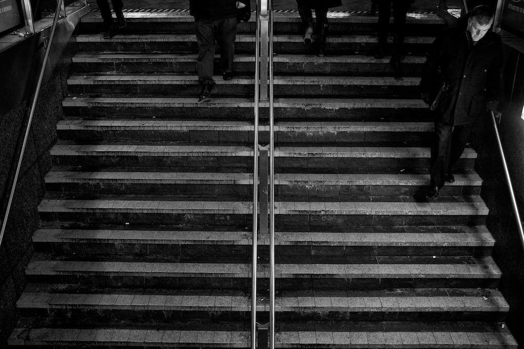 #106: 16-1-2012 - Subway Entrance, Toronto