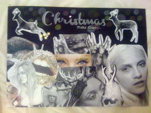 Bethany Katie Marsh - BKM Make Up - 2012 - Christmas Story Board Design