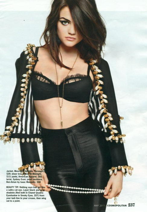 ivetrulyoutgayedmyself:  Lucy Hale is perf