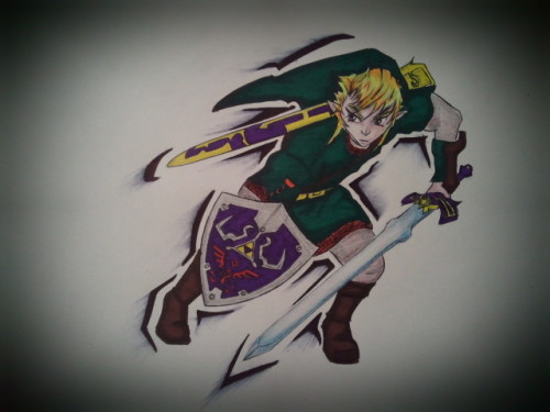 Link in sharpies. BiC Pen. And pencils