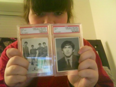 my beatles cards:)