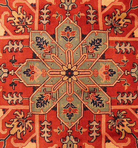 indigenousdialogues:  This carpet comes from Ardabil, the city located in the north west of Iran, the shot is taken with available light and hand held cam. (by HORIZON)
