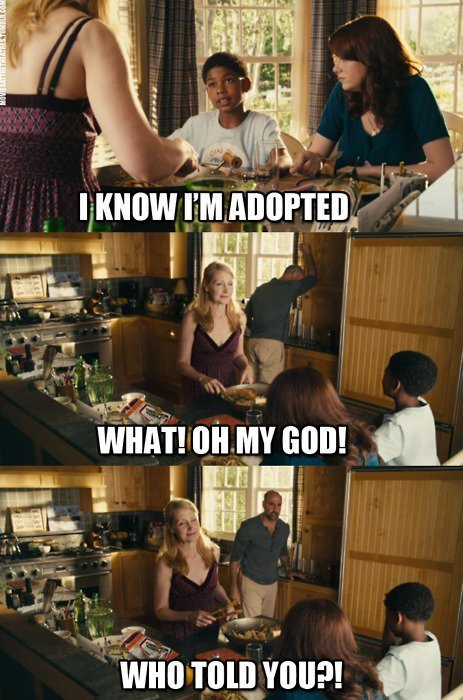 Adoption is cool too…