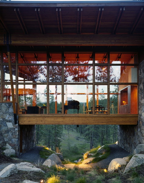 cabinfodder:  Ridge House, Olsen Kundig Architects