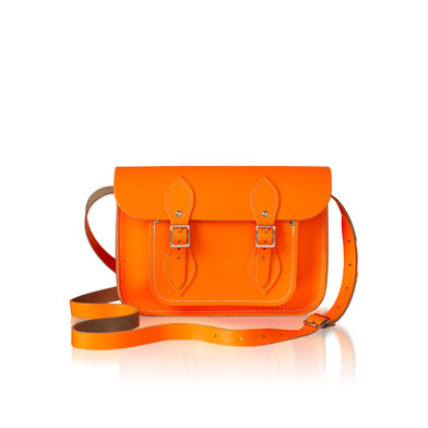 Cambridge Tote in Neon Orange
