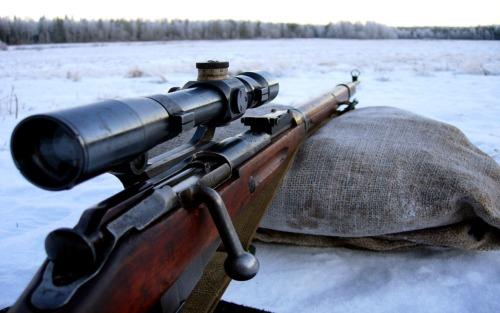 brain-eaten:  Finnish Mosin Nagant  Pretty sure this is not a finn…It doesn't have the correct sights.  The finn nuggets had a blade sight and not the hooded post sight.