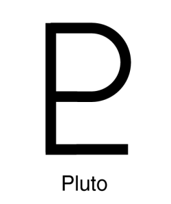 PLUTO was predicted by Percival Lowell and its glyph represents both its own first two letters and Lowell's initials. The dark god of the underworld, Pluto, lends volcanic energies to those born under the sign of Scorpio. Plutonic areas are traditionally those of money, power and sexuality. The planet Pluto represents the inexorable forces and events which govern our lives, and events which no easy deal can be struck. Harnessing such powers to achieve positive transformations is essential to a person's development.