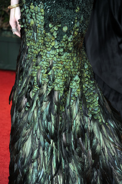 walkingthruafog:   walkingthruafog: Evan Rachel Wood in Gucci Custom Premiere at Golden Globe 2012