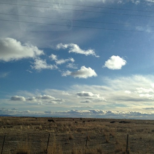 Highway 26 west of Burns, #Oregon. (Taken with instagram)