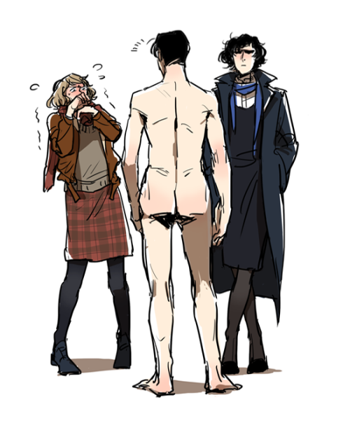 oooyooo:  -You should do male Adler to match the female Sherlock, John and Moriarty Stop this nonsense, Mr. Adler. And you must not get away from reality, Ms. Watson.