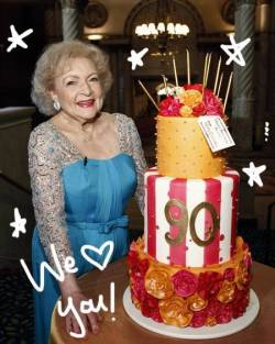 Happy Birthday Betty White!!! You are my hero! When I grow up I want to be just like you! Thank you for everything you've done as a LA Zoo commissioner and becoming chair of GLAZA!