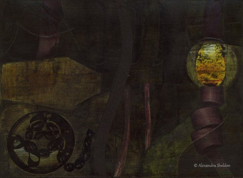 """Lantern Twist"", 8""x12"" http://fineartamerica.com/featured/lantern-twist-alexandra-sheldon.html"